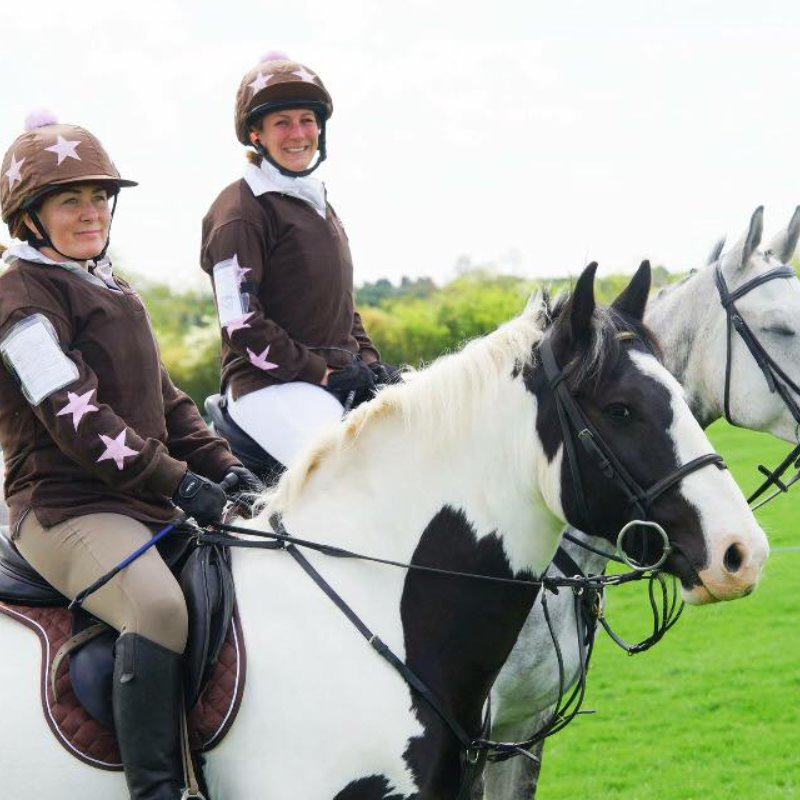 Mercian Arena Eventing 15th May 2016 - Laura & Emma