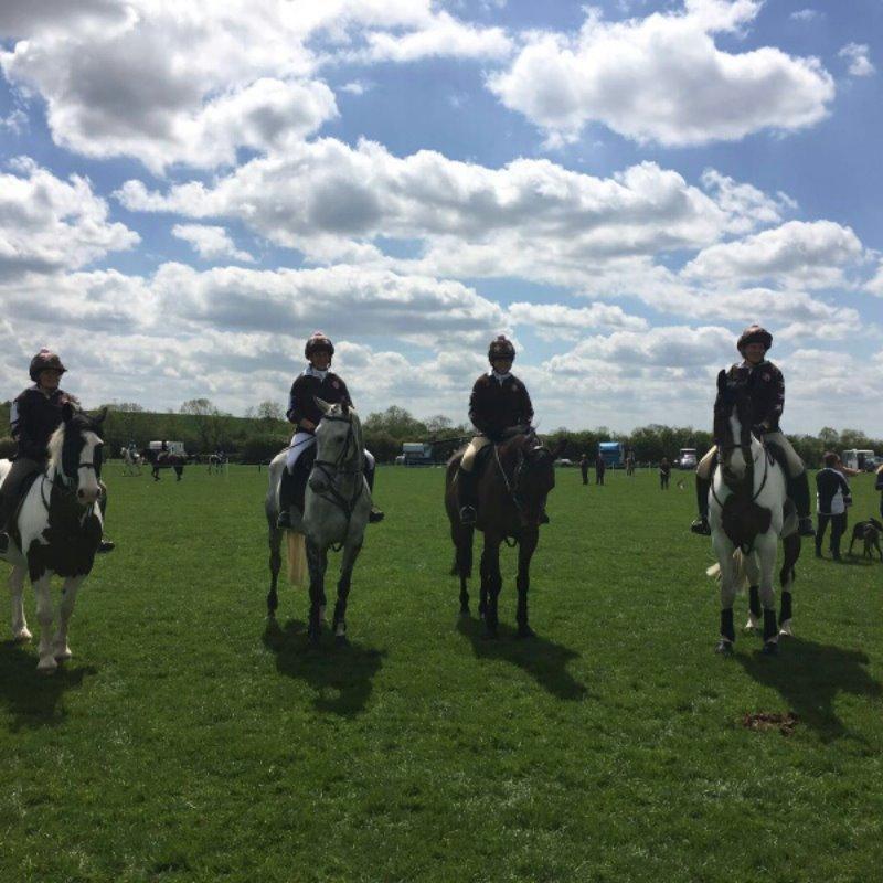 Mercian Team Hunter Trial 23rd April 2016