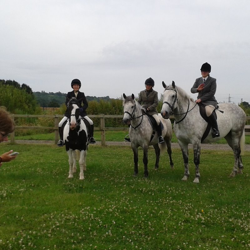 Mercian Arena Eventing at Lincomb 2015 - Laura & Herbie, Heidi & Bandit, Ellie & Irish