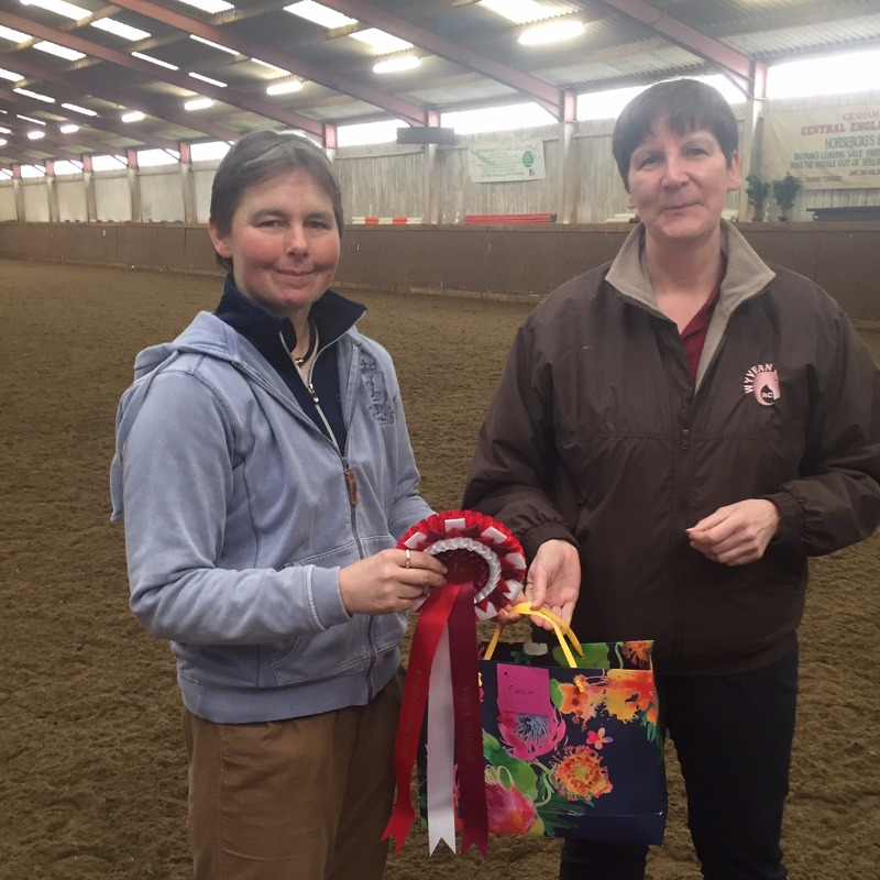 Jill Bransby the 2016/2017 Winter Dressage Series Winner