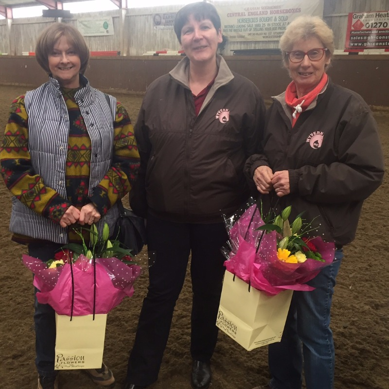 Chairman Ruth with Jayne and Joy - thank you, ladies!